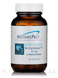 B-Complex + 10 mg L-Methylfolate - 30 Capsules