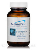 B-Complex + 15 mg L-Methylfolate - 30 Capsules