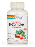 B-Complex, Natural Strawberry - 50 Chewables