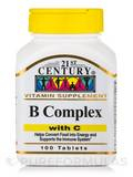 B Complex with C - 100 Caplets