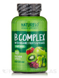 B-Complex with Organic Fruits & Veggies - 120 Vegetarian Capsules