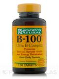 B-100® Ultra B-Complex 100 Tablets