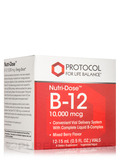 Nutri-Dose™ B-12 10,000 mcg (Mixed Berry Flavor) - 12 Vials (0.5 fl. oz ea)