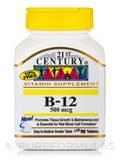 B-12 500 mcg 110 Tablets