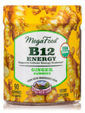 B12 Energy Ginger Gummies - 90 Gummies
