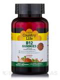 B12 Gummies 850 mcg, Strawberry Flavor - 60 Gummies