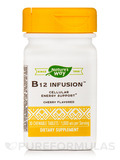 B12 Infusion™ 1,000 mcg, Cherry Flavor - 30 Chewable Tablets