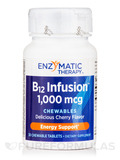 B12 Infusion™ 1,000 mcg (Cherry Flavor) - 30 Chewable Tablets