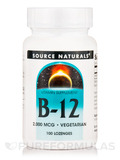 B-12 Sublingual 2000 mcg 100 Tablets