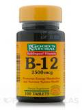 B-12 Sublingual 2,500 mcg - 100 Tablets