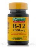 B-12 Sublingual 2,500 mcg 50 Tablets