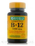 B-12 Sublingual 5,000 mcg - 30 Microlozenges