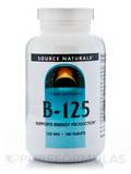 B-125 125 mg - 180 Tablets
