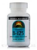 B-125 125 mg 30 Tablets