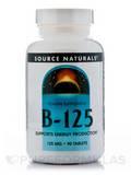 B-125 125 mg 90 Tablets
