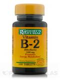 B-2 100 mg (Riboflavin) 100 Tablets