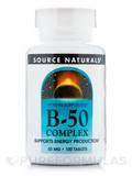 B-50 Complex 50 mg - 100 Tablets