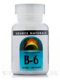 B-6 100 mg 100 Tablets