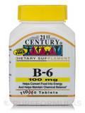 B-6 100 mg - 110 Tablets