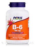 B-6 100 mg 250 Capsules