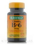 B-6 50 mg 100 Tablets