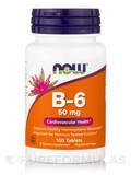 B-6 50 mg - 100 Tablets