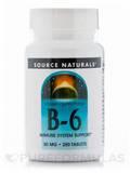 B-6 50 mg 250 Tablets