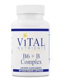 B6 + B Complex - 60 Vegetarian Capsules