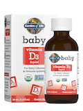 Baby Vitamin D3 Liquid - 1.9 fl. oz (56 ml)