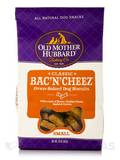 Bac'N'Cheez® Oven-Baked Dog Biscuits, Small Bones - 20 oz (567 Grams)