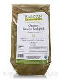 Organic Bacopa Herb Powder 1 Lb (454 Grams)