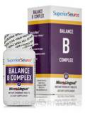 Balance B Complex Folic Acid & Biotin - 60 MicroLingual® Tablets