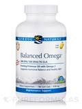 Balanced Omega™ Combination 500 mg, Lemon Flavor - 180 Soft Gels