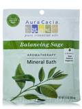 Aromatherapy Mineral Bath Balancing Sage (Purify) - 2.5 oz (70.9 Grams)