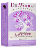 Bar Soap - Exfoliating Lavender with Lavender Flowers - 5.25 oz (149 Grams)