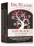 Bar Soap - Raw Black Facial Cleansing Bar - 5.25 oz (149 Grams)