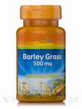 Barley Grass 500 mg (Organically Grown) 100 Tablets