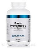 Basic Preventive 2 (Iron and Copper Free) - 180 Tablets