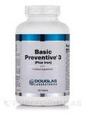 Basic Preventive 3 (Plus Iron) 180 Tablets