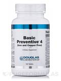 Basic Preventive 4 (Iron and Copper Free) - 180 Tablets