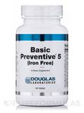 Basic Preventive 5 (Iron Free) 180 Tablets