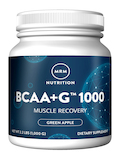 BCAA + G™ 1000 Muscle Recovery, Green Apple Flavor - 1000 Grams