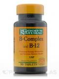 B-Complex & B-12 90 Tablets