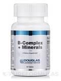 B-Complex + Minerals - 90 Tablets