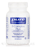 B-Complex Plus (with Metafolin L-5-MTHF) 120 Capsules