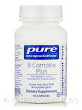 B-Complex Plus (with Metafolin L-5-MTHF) 60 Capsules