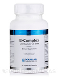 B-Complex with Metafolin and Intrinsic Factor - 60 Vegetarian Capsules