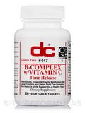 B-Complex with Vitamin C - 60 Vegetable Tablets