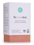Be you tiful: Skin, Hair & Nails Support Supplement - 60 Capsules
