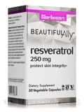 Beautiful Ally™ Resveratrol 250 mg - 30 Vegetable Capsules